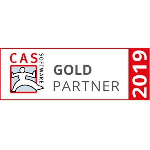 CAS Software Goldpartner 2019