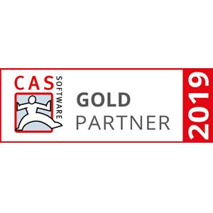CAS Software Goldpartner 2019
