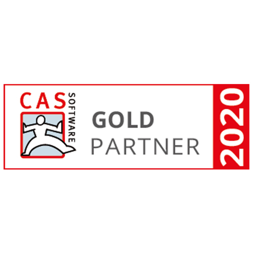 CAS Software Goldpartner 2020